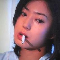 菅野美穂のタバコ
