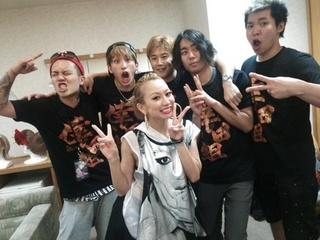 倖田來未とKENJI03のメンバー