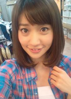 大島優子のメイク時
