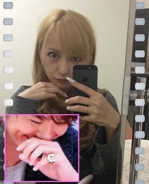 板野友美とTAKAHIROの指輪