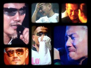 EXILEのATSUSHIが涙している画像集